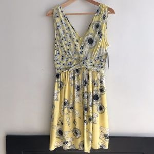Zara flower dress